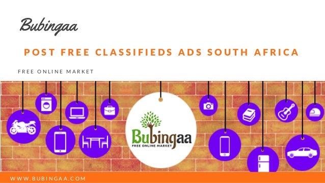 南アフリカで無料広告を選ぶ
