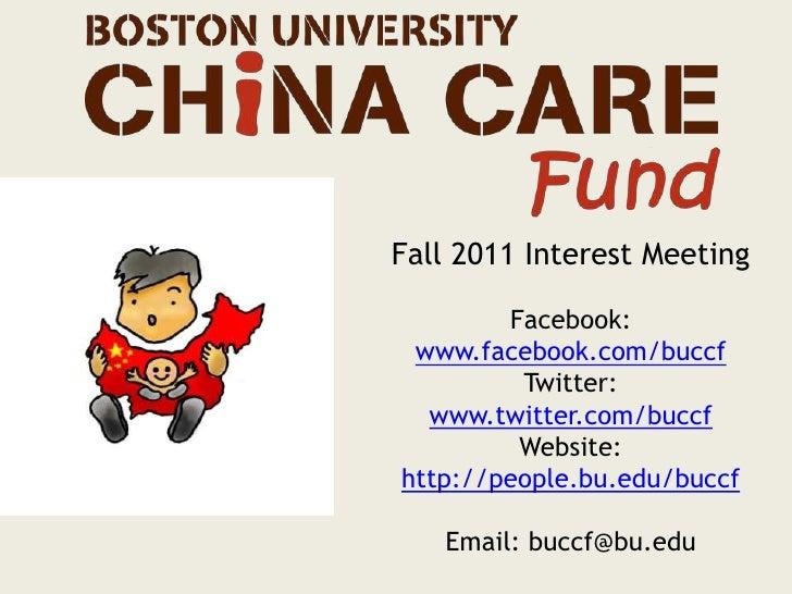 Fall 2011 Interest Meeting<br />Facebook: www.facebook.com/buccf<br />Twitter: www.twitter.com/buccf<br />Website:<br />ht...