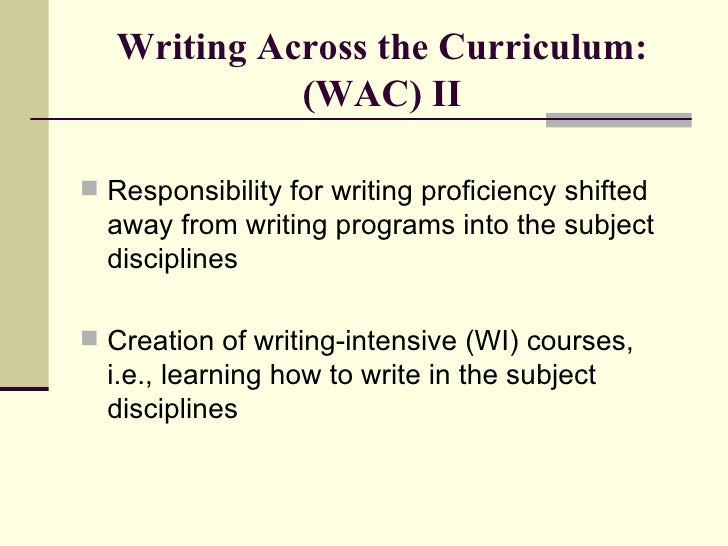 Write away proficiency