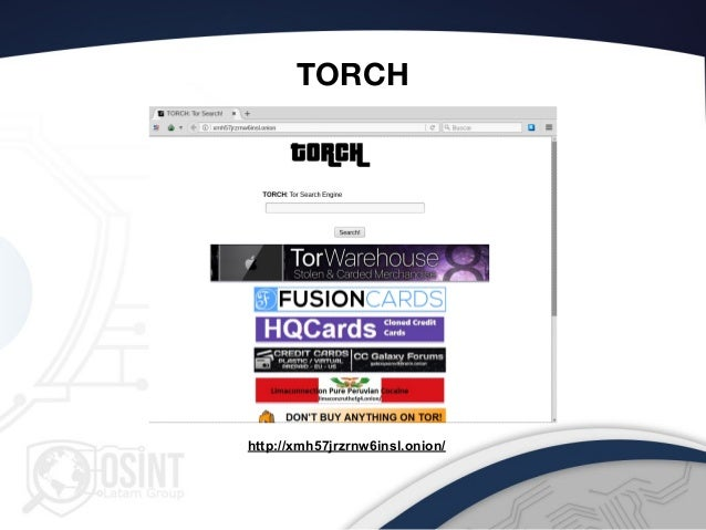 Torch Deep Web