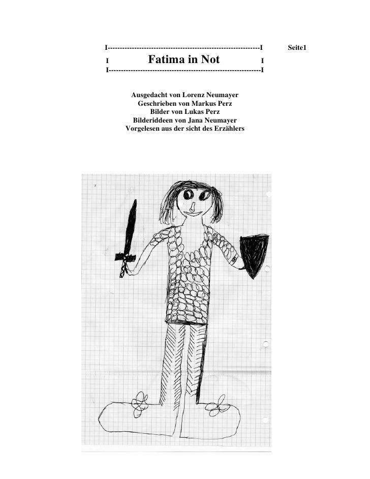 I---------------------------------------------------------------I   Seite1 I                Fatima in Not                 ...