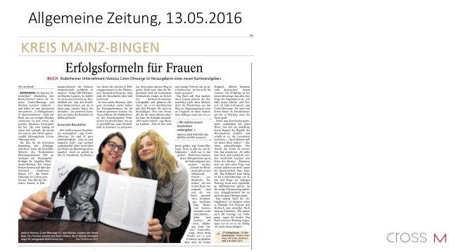 21 Erfolgsfrauen - 21 Karriereformeln - Buch-PR - Oktober 2016 Slide 2