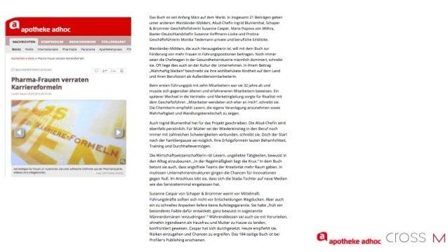 21 Erfolgsfrauen - 21 Karriereformeln - Buch-PR - Oktober 2016 Slide 3