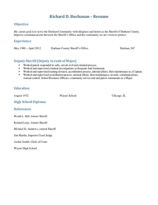 Richard Buchanan 2014 PA-PAC Questionnaire