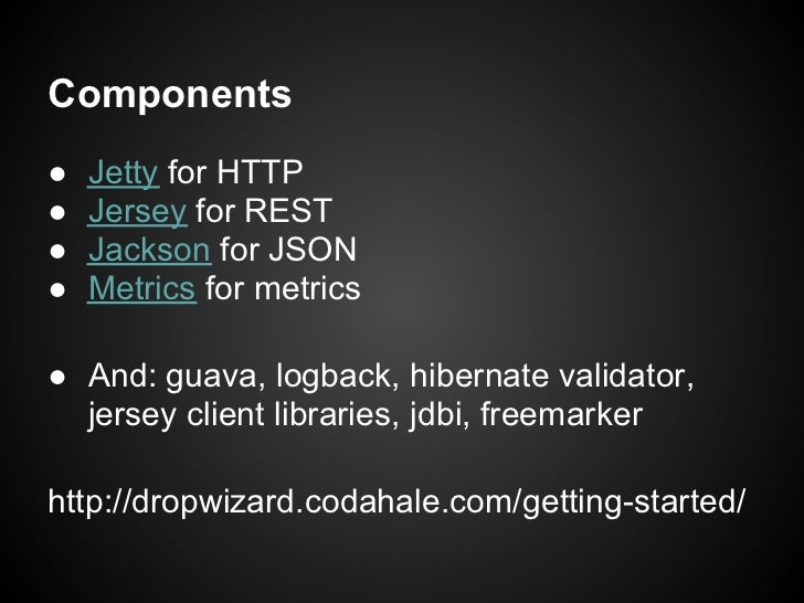 Simple Rest With Dropwizard