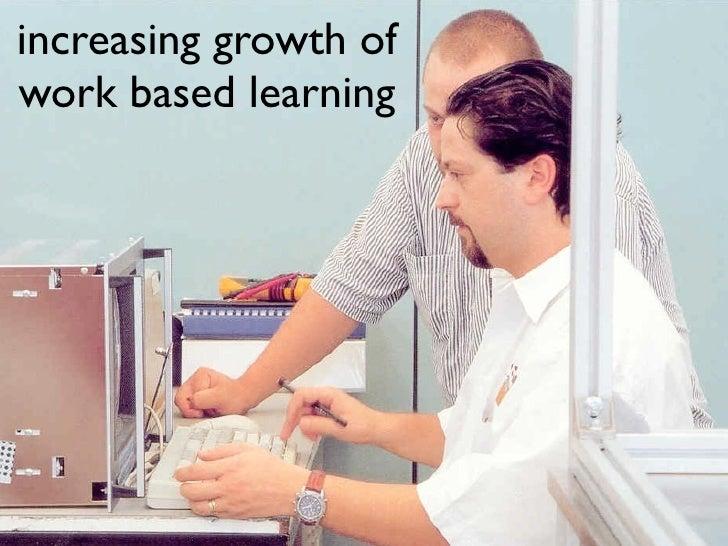 Developing Work based Learning Slide 2