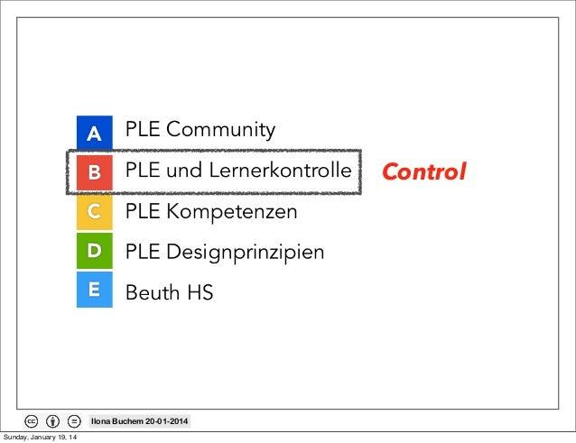 Control  Ilona Buchem 20-01-2014 Sunday, January 19, 14