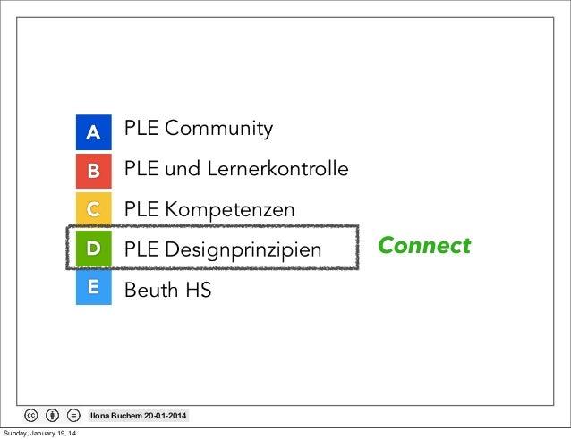 Connect  Ilona Buchem 20-01-2014 Sunday, January 19, 14