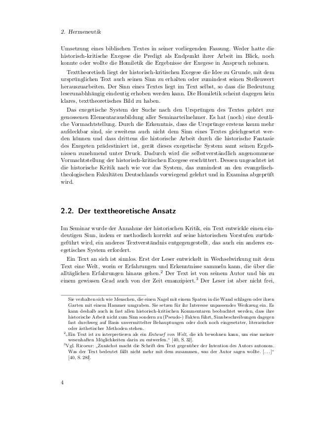 2.2. Der texttheoretische Ansatzdem Text irgendeine Bedeutung beizumessen.4 Erstens reizt der Text mit dem, was erbietet, ...