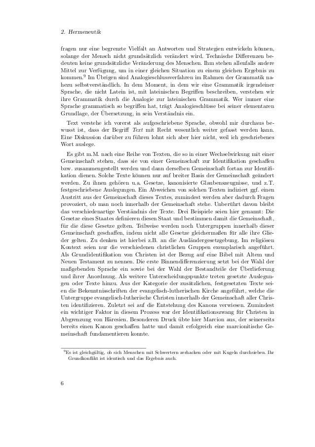 2.3. Konsequenzen aus dem texttheoretischen Ansatz2.3. Konsequenzen aus dem texttheoretischen AnsatzWenn ein Text weder se...