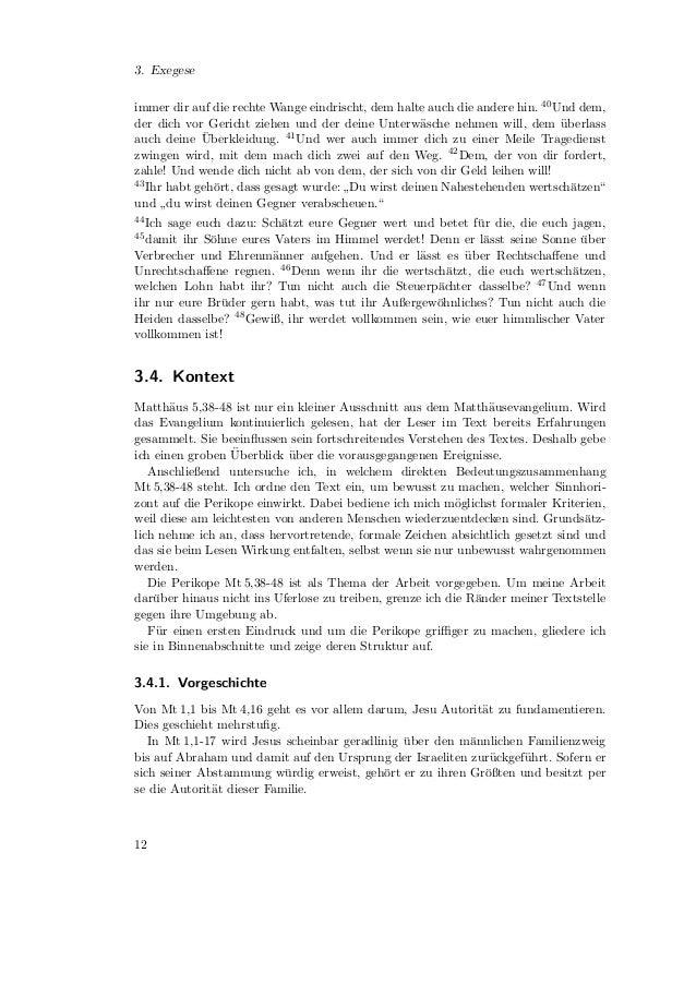 3.4. Kontext   Die Szenen Mt 1,18-3,12 sind immer mit einem Schriftwort verkn¨pft. Damit wird                             ...