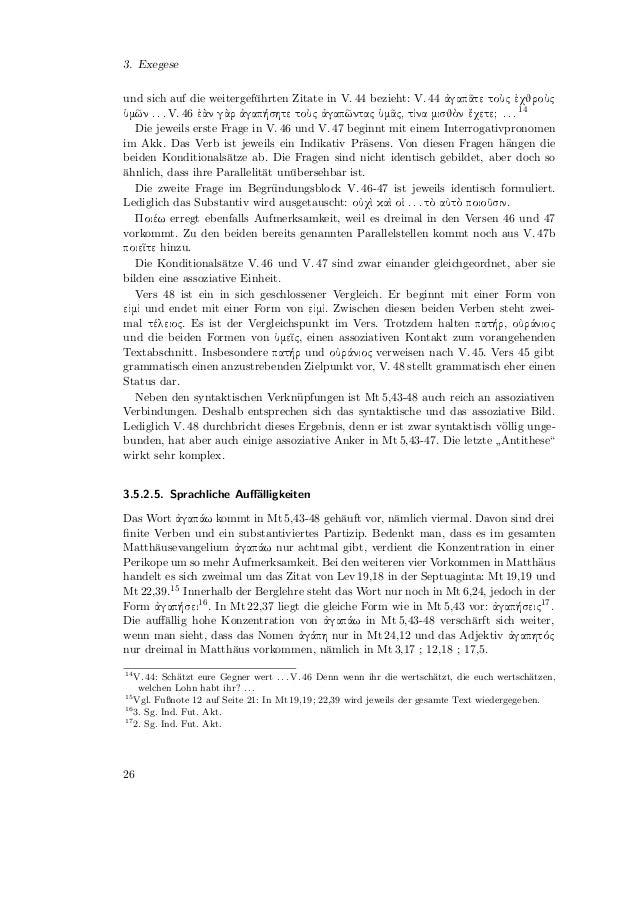 Handelt wie Gott. Gepredigte Auslegung von Mt 5,38–48