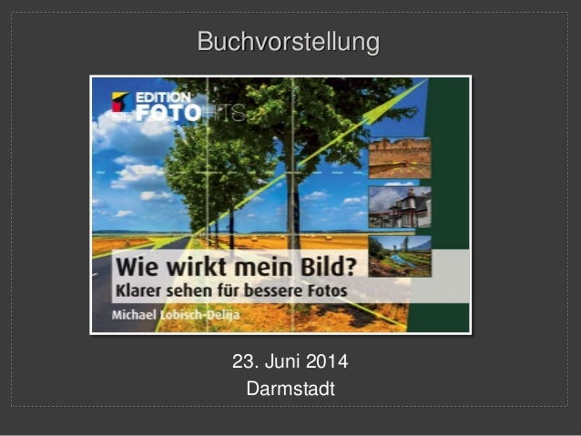 Buchvorstellung  23. Juni 2014  Darmstadt