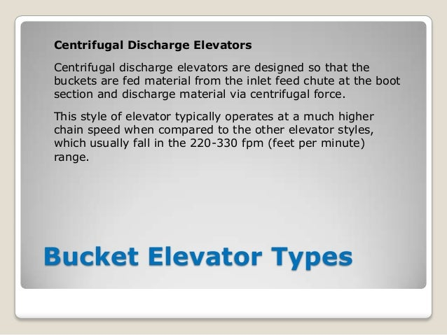Bucket Elevator Basics: Definitions & Details