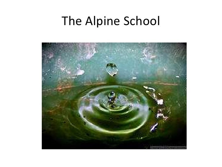 The Alpine School<br />