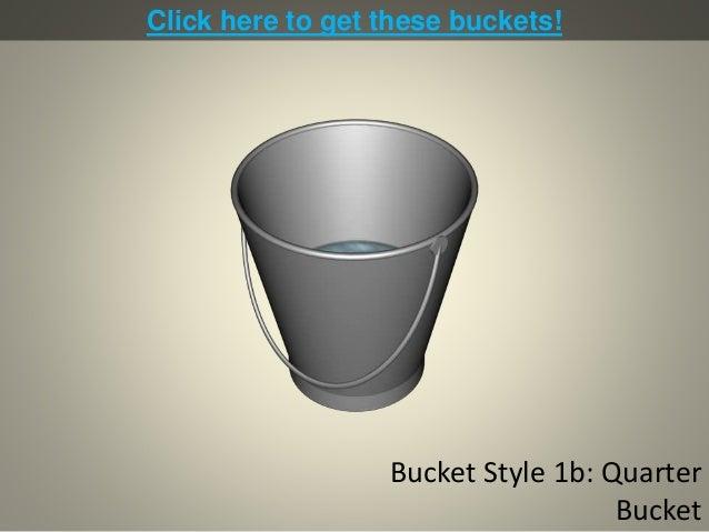 Bucket Diagrams for PowerPoint Slide 2