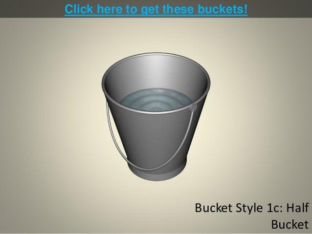 Bucket Diagrams for PowerPoint Slide 3