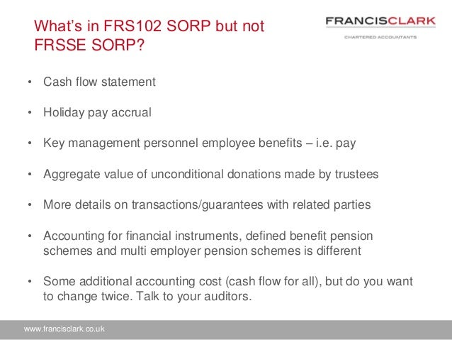 how to calculate holiday pay accrual frs 102