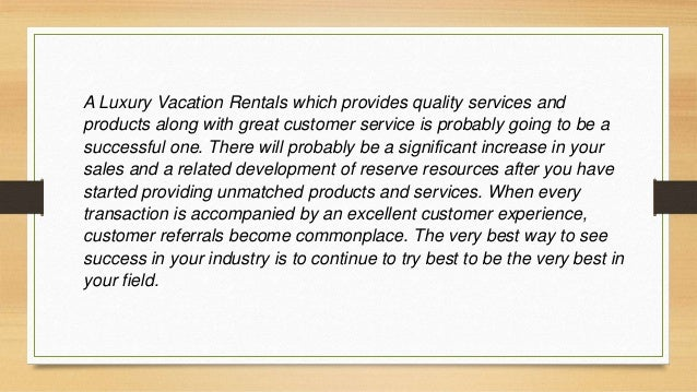 A strong online presence is essential for competitive success in today's Luxury Vacation Rentals world. Working with a pop...
