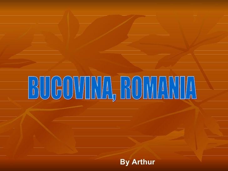 BUCOVINA, ROMANIA By Arthur