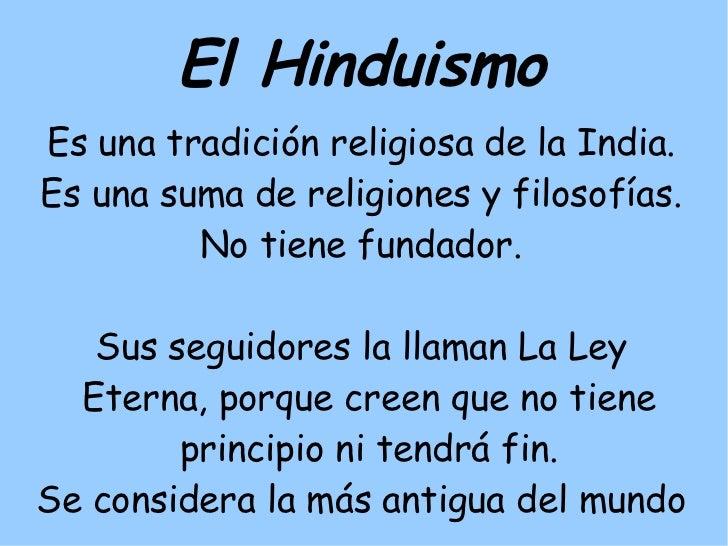 Budaismo e hinduismo - Principios del hinduismo ...