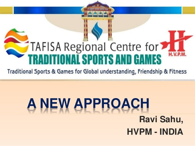 Promoting traditional sports games new approach - Household water treatment a traditional approach ...