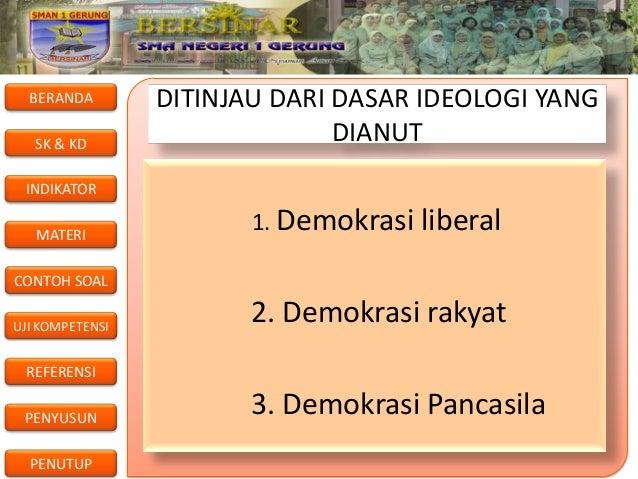 Budaya demokrasi klsxi smter 3