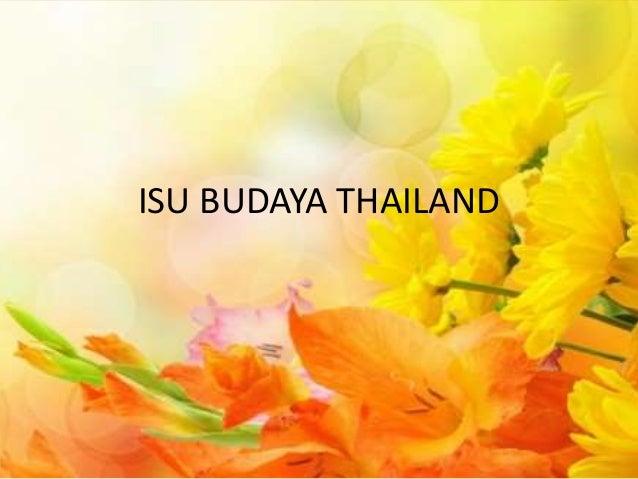 ISU BUDAYA THAILAND