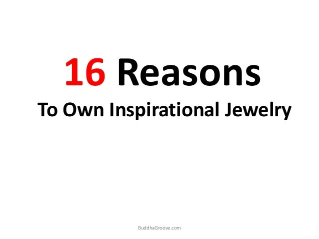 16 Reasons To Own Inspirational Jewelry BuddhaGroove.com