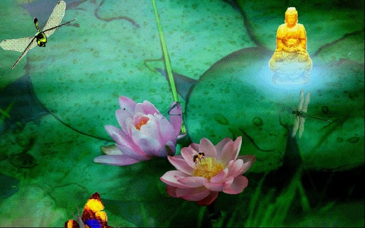 Buddha Lotus Slide 2