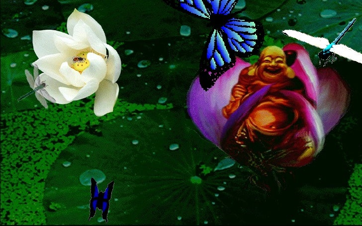 Buddha Lotus Slide 3