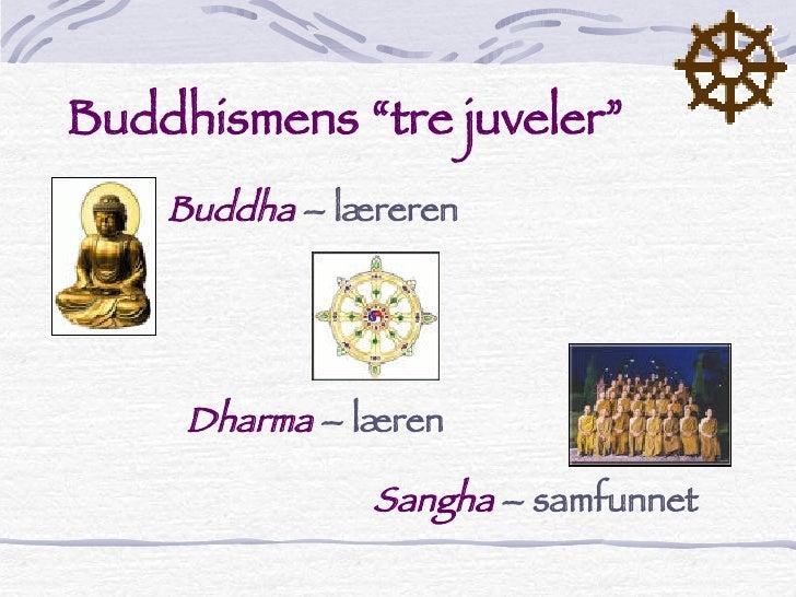 de tre juveler buddhismen