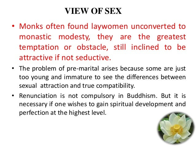 Buddhism and pre marital sex