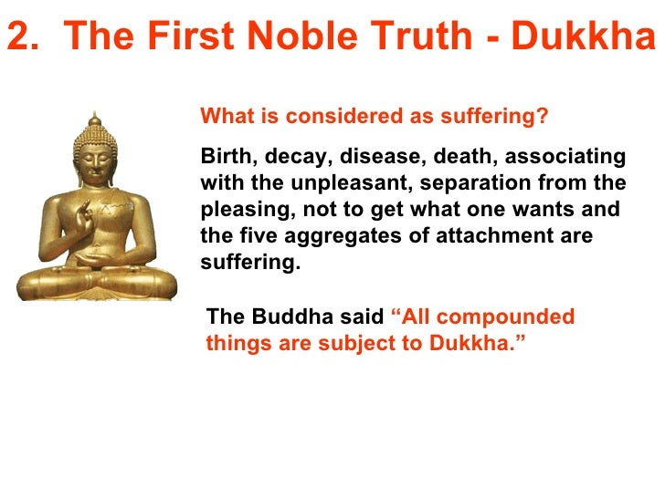 Buddhism for you lesson 06-the four noble truths