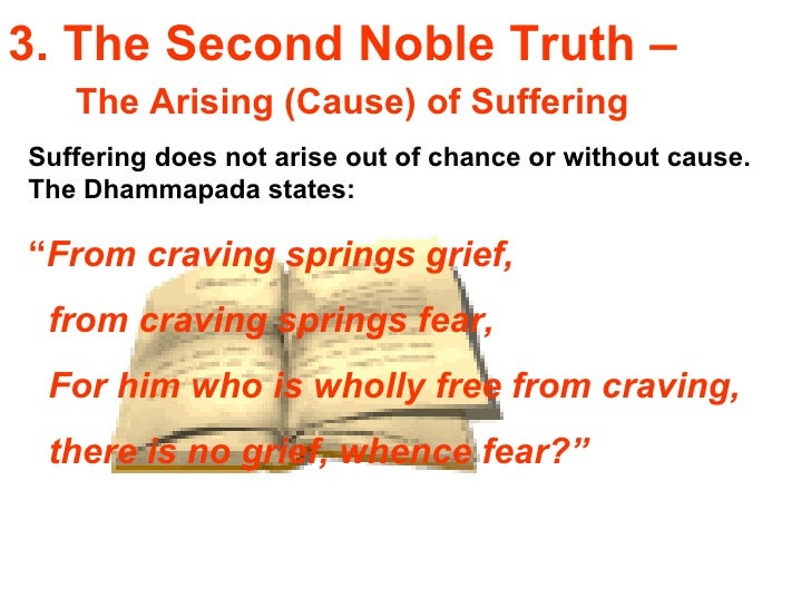 the second noble truth of buddhism The four noble truths are a foundational teaching in buddhismthe noble truths teach what suffering is and how to overcome it the second noble truth.