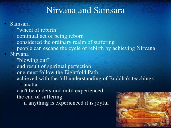 dharma and nirvana The first question buddhists get asked when they meet non-buddhists is, as likely  as not, 'what is nirvana' certainly, when i was a buddhist monk travelling.