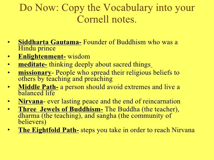 the buddha two lessons Lesson plan: the noble eightfold path buddha's enlightenment o ask students to complete a two- to three-page speech titled how to be more.