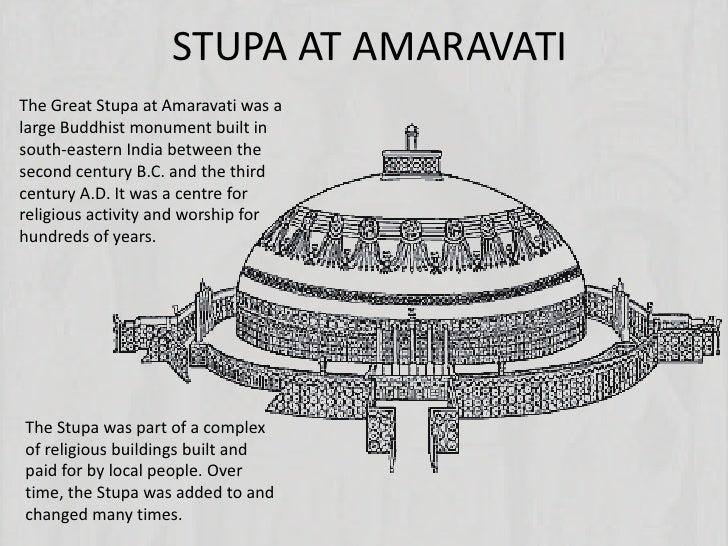 STUPA AT AMARAVATIThe Great Stupa at Amaravati was alarge Buddhist monument built insouth-eastern India between thesecond ...