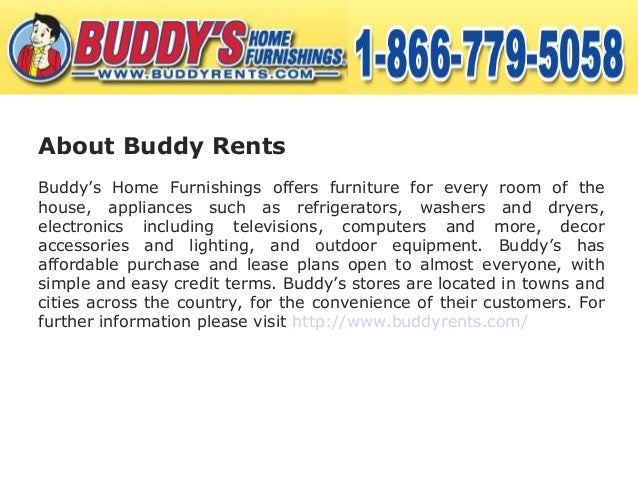 Buddy Rent 39 S Rent To Own Furniture Services Are The Best In The Market
