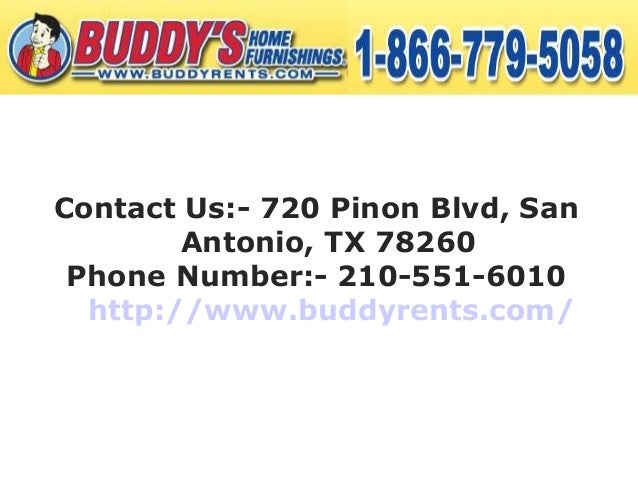 Buddy S Furniture And Appliances