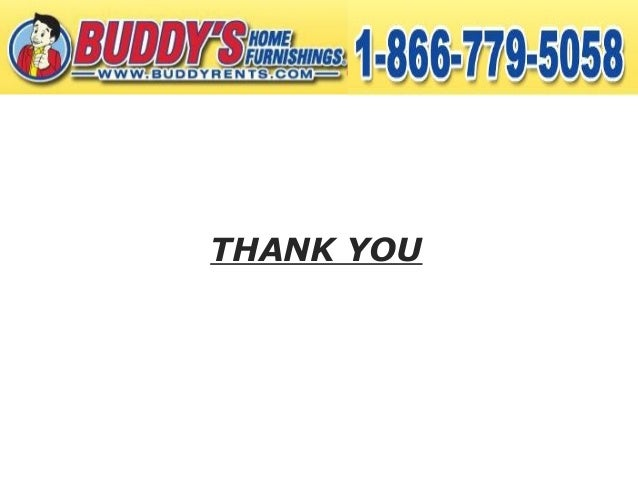 Buddy Rent S Rent To Own Furniture Services Are The Best In The Market