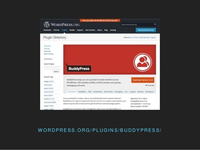BuddyPress & Higher Education Slide 2