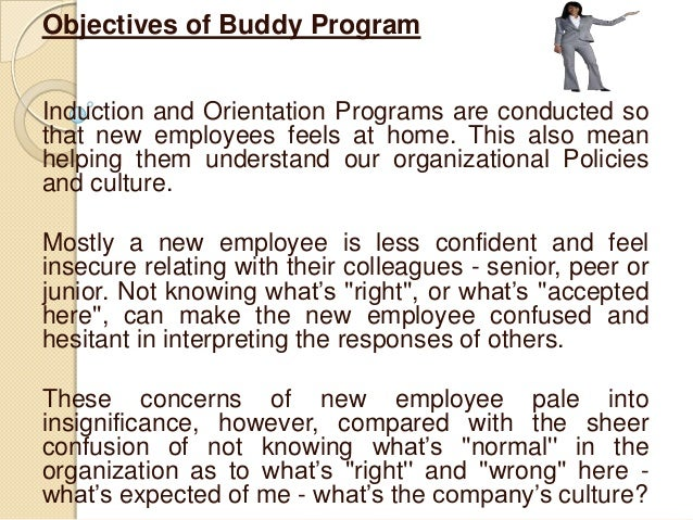 Buddy program Slide 2