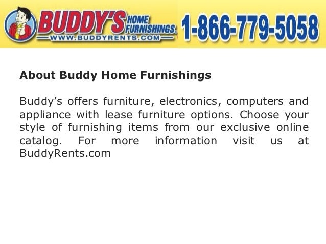Buddy Rents Is The Best Rent To Own Store