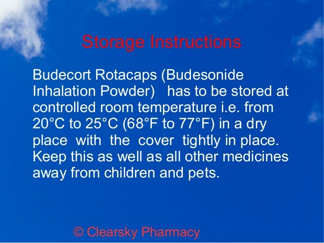 Budecort Rotacaps Budesonide Inhalation Powder