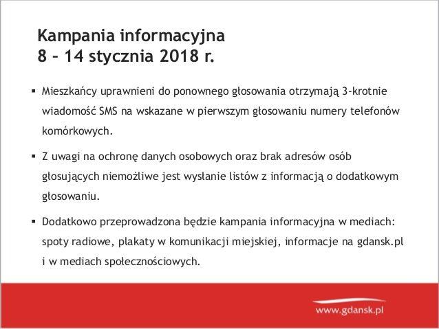 Budżet Obywatelski w Gdańsku - dogłosowanie Slide 3
