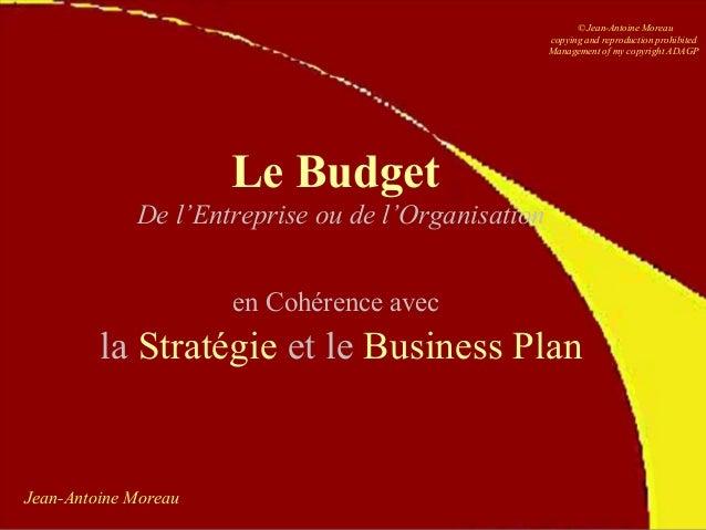 Le Budget Jean-Antoine Moreau Slide 2
