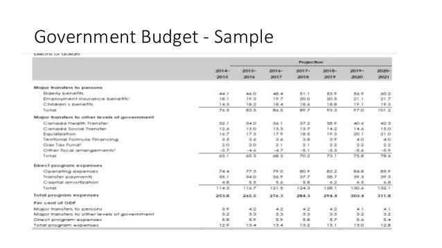 Budget 101 – Basics On How To Create Budgets For Government Or Busine…