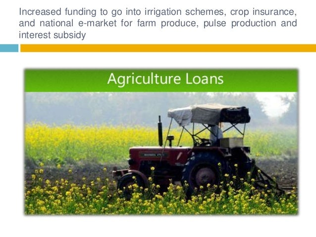Budget 2016 govt raises agriculture spending to rs36,000 crore Slide 2