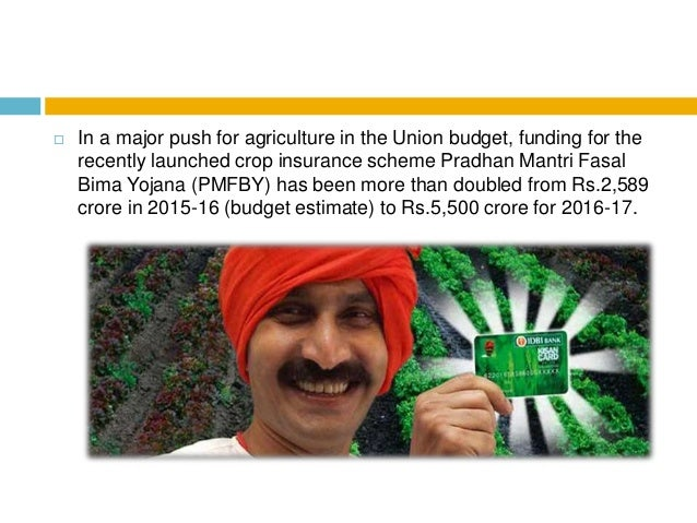Budget 2016 govt raises agriculture spending to rs36,000 crore Slide 3